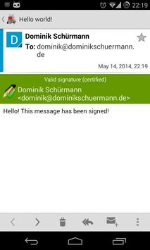 OpenKeychain: Easy PGP apk screenshot