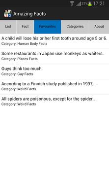 Amazing Facts screenshot 2