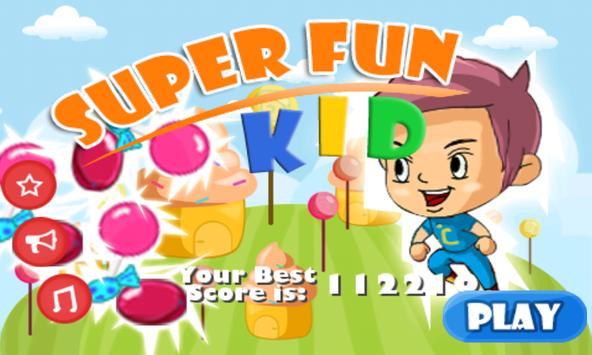 Super Fun Kid poster
