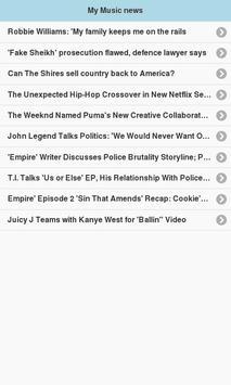 My Music news screenshot 1