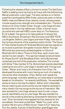 My Music news screenshot 2