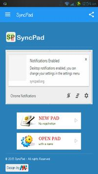 SyncPad: Real-time collaborative documents editor. poster
