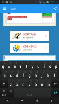 SyncPad: Real-time collaborative documents editor. apk screenshot