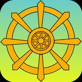 Buddhism & meditation icon
