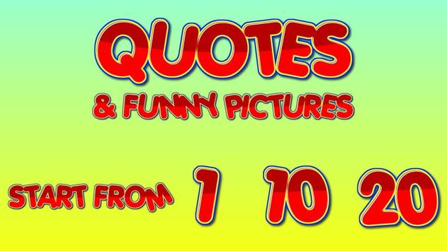Quotes & Funny pictures poster