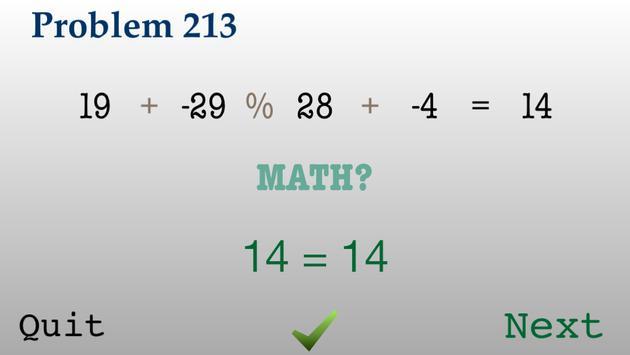 Try Math: Add +- Multiply x/% screenshot 3