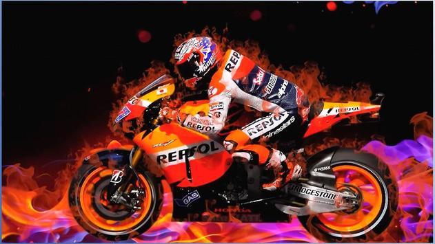 MotorcycleRacing Wallpapers poster