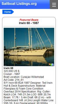 Sailboat Listings - Yachts and Boats poster