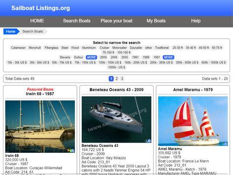 Sailboat Listings - Yachts and Boats screenshot 17