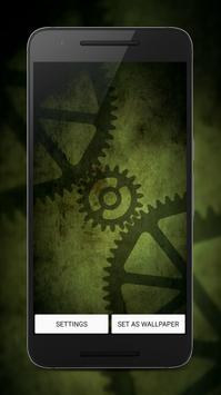 Cogs | Live Wallpaper LWP poster