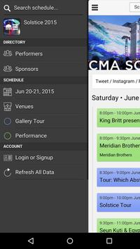 CMA Solstice poster