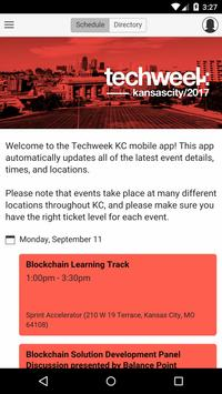 Techweek KC poster
