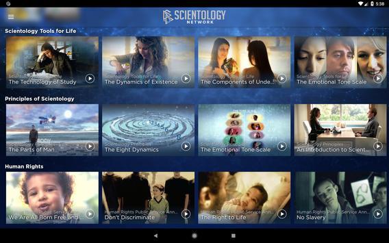 Scientology Network screenshot 4