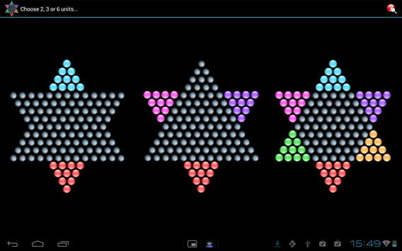 Chinese Checkers - HD/Tablet apk screenshot