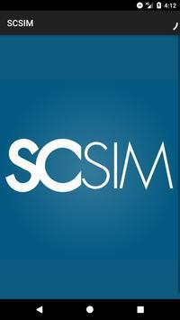 Southern California SIM poster