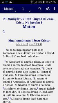 Tagabawa - Bible poster