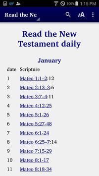 Chavacano - Bible ảnh chụp màn hình 2