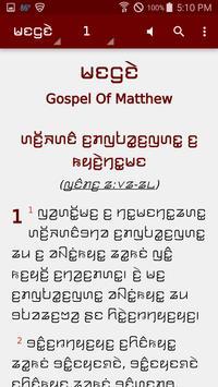 Kayah Li Bible poster