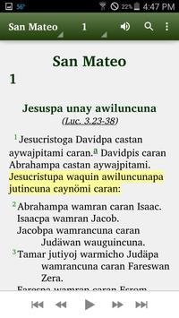 Quechua Huallaga - Bible apk screenshot