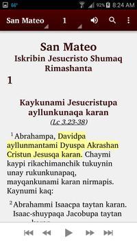 Quechua Lambayeque - Bible apk screenshot