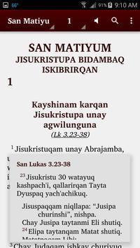 Quechua Cajamarca - Bible screenshot 1