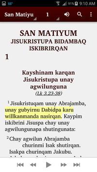 Quechua Cajamarca - Bible screenshot 4