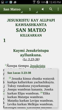 Quechua San Martín - Bible apk screenshot