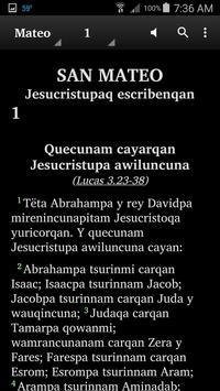 Quechua Huaylas - Bible screenshot 2