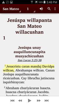 Quechua Panao - Bible screenshot 4