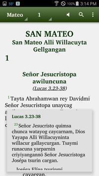 Quechua North Conchucos -Bible screenshot 1