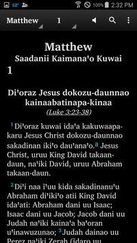 Wapishana - Bible apk screenshot