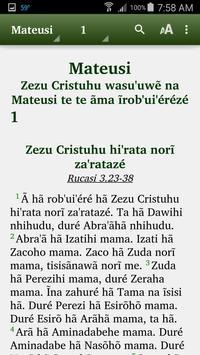 Xavante - Bible poster