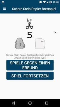 Schere Stein Papier Brettspiel (Privacy Friendly) poster