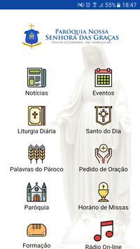 Paróquia Nossa Senhora das Graças poster