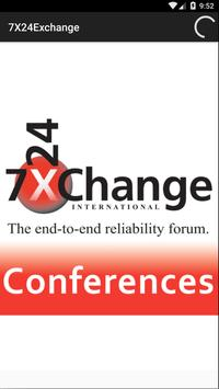 7x24 Exchange Conferences poster