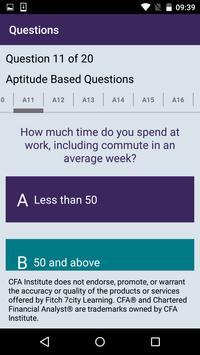 Ready for the CFA® Program? apk screenshot