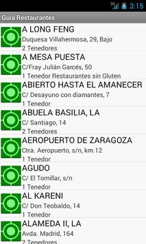 GuiaRestaurantes apk screenshot