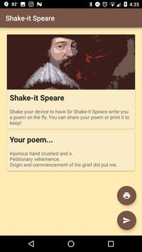Shake-it Speare poster