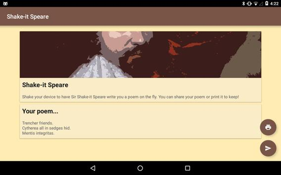 Shake-it Speare screenshot 2