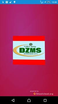 DZMS-AM Sorsogon City poster