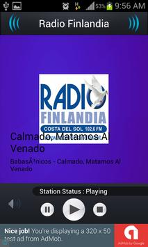 Radio Finlandia screenshot 1