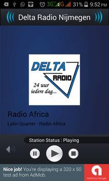 Delta Radio Nijmegen poster