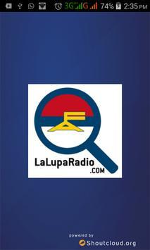LaLupaRadio apk screenshot