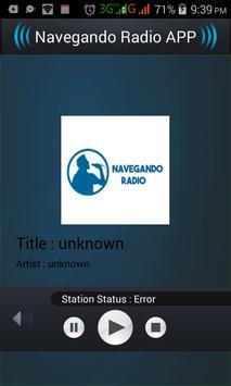 Navegando Radio APP screenshot 1