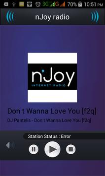nJoy Radio apk screenshot