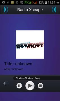 Radio Xscape apk screenshot