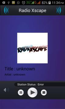 Radio Xscape screenshot 1