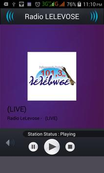 Radio LELEVOSE screenshot 1