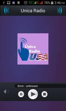 Unica Radio poster