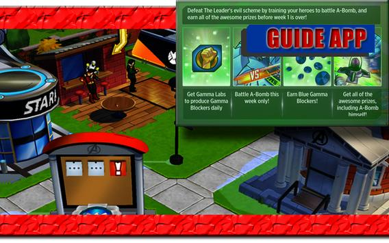 New Guide MARVEL Avengers Academy apk screenshot